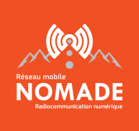 NOMADE mobile network - Digital radio communication